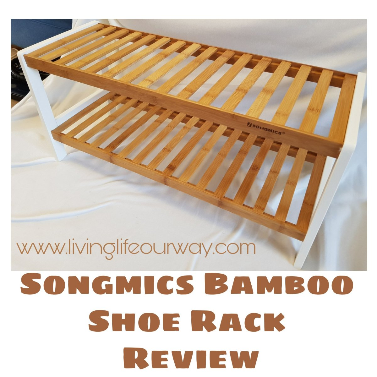 Songmics Bamboo Shoe Rack: Review and Giveaway