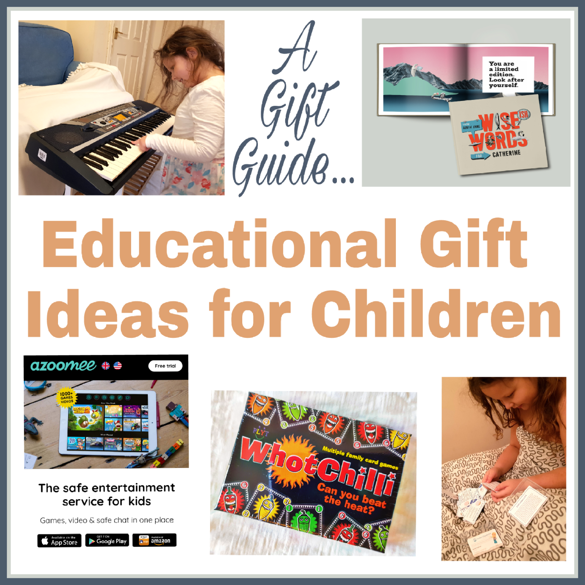 Educational Gifts For Children (Gift Guide)