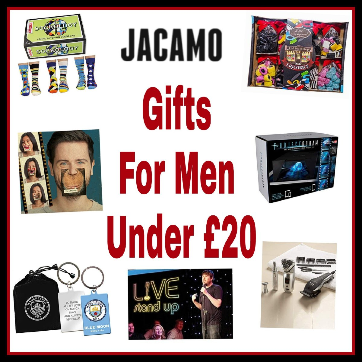 Cool Gifts For Men Under £20 (Gift Guide) - Living Life Our Way