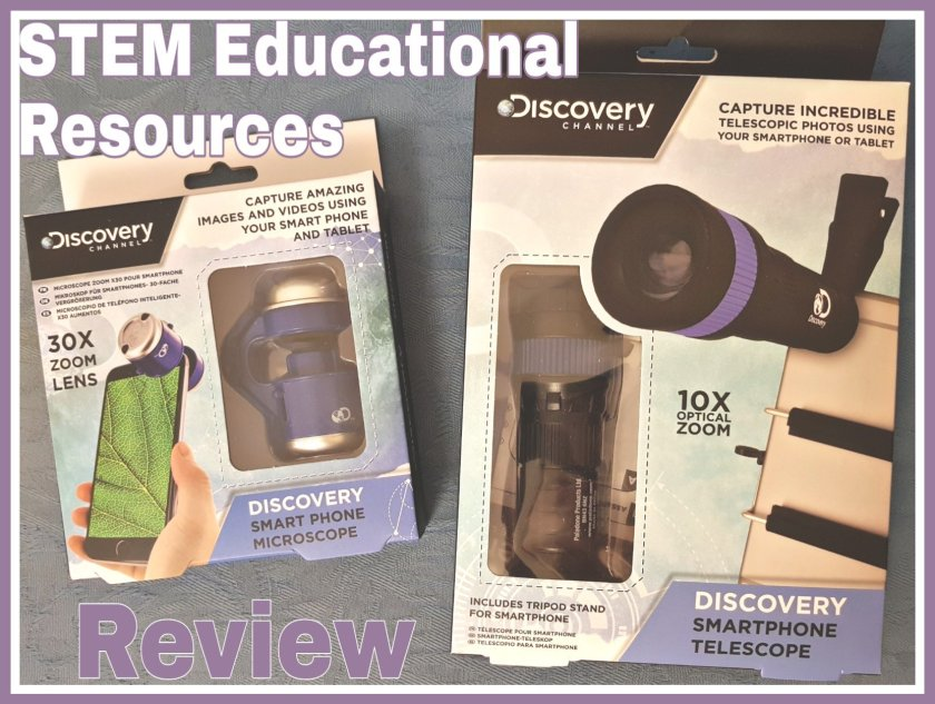 Dicovery Channel Smart Phone Telescope and Smart Phone Microscope Review: Educational Resources - STEM Science
