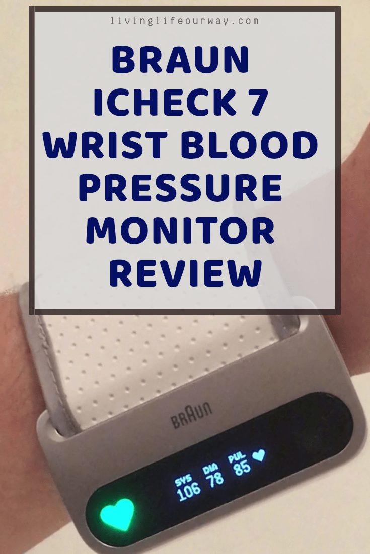 Braun iCheck 7 Wrist Blood Pressure Monitor Review
