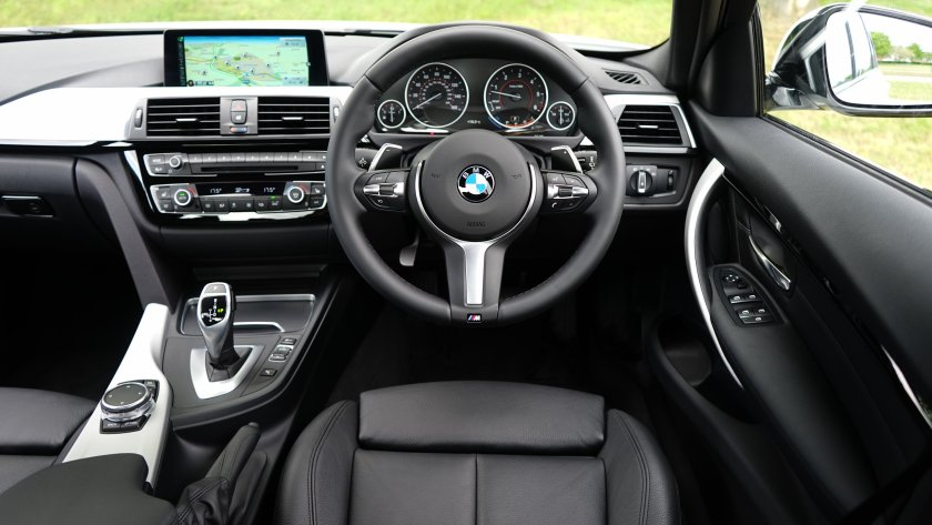 Interior picture of BMW