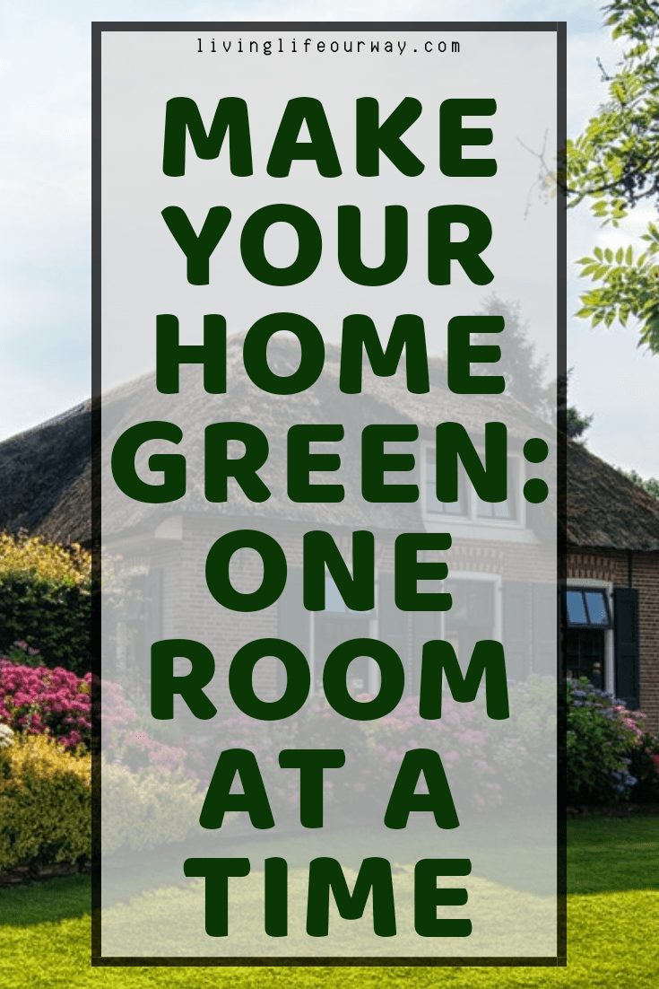 Make Your Home Green: One Room at a Time (Guest Post)