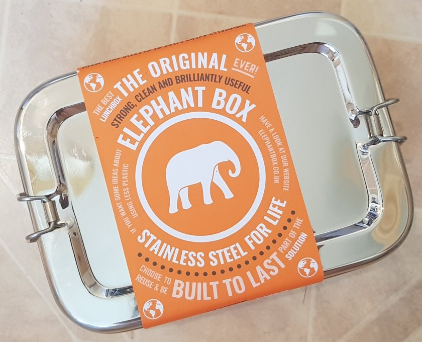 Stainless steel reusable Elephant Box