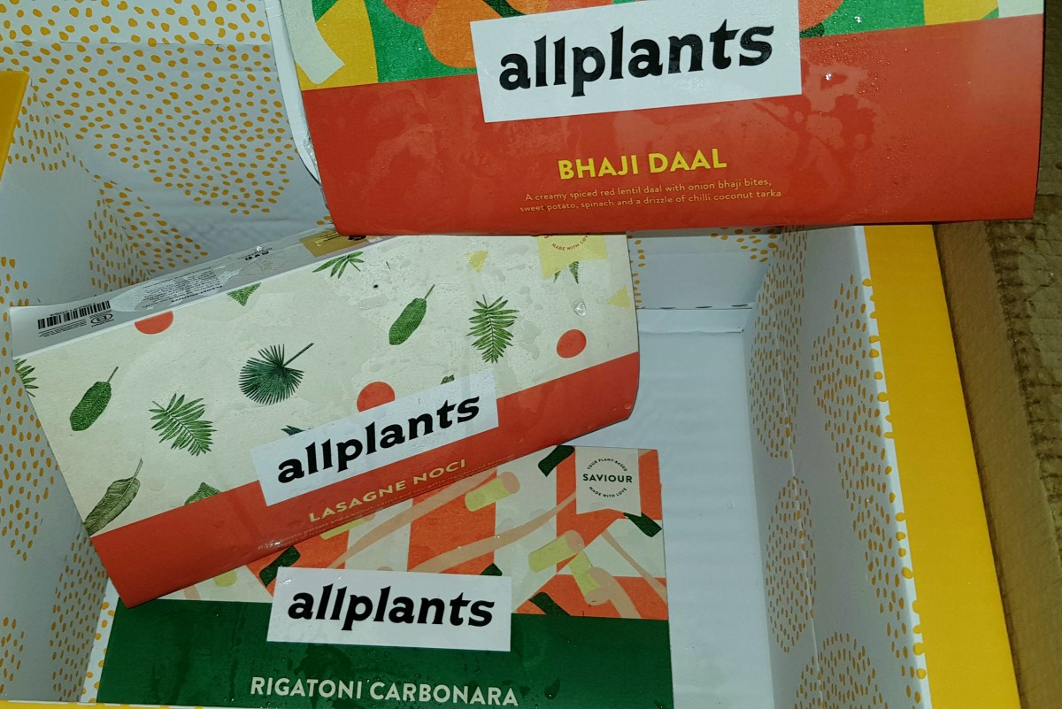 Allplants: Plant-Based Vegan Ready Meals Delivered To Your Door – Review (#Ad)