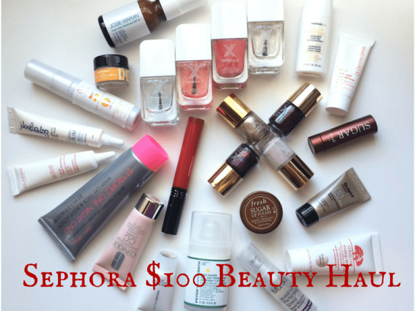 Sephora $100 Beauty Haul