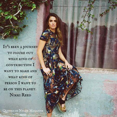Nikki Reed - Nylon