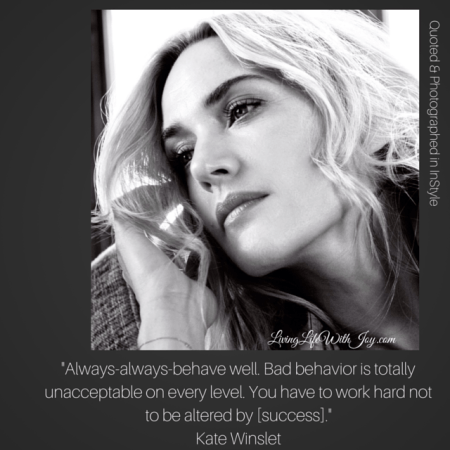 Kate Winslet - InStyle