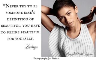 Quote – Zendaya