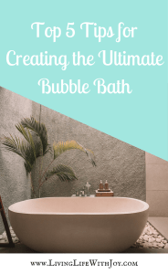 Top 5 Tips for Creating the Ultimate Bubble Bath