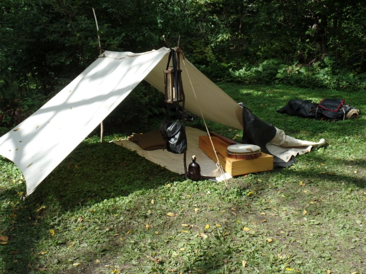 A soldier's tent.