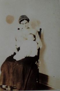GG Irene with my grandpa Redding.