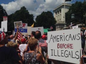 Boston anti-immigration rally July 2014