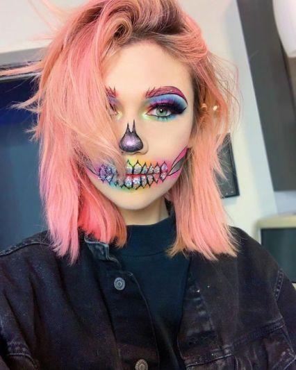 31 Creative Halloween Makeup Looks To Recreate Cassi Adams