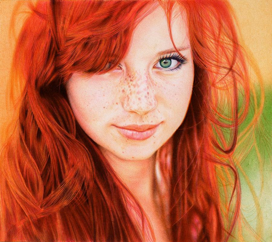 Ragazzi con i capelli rossi