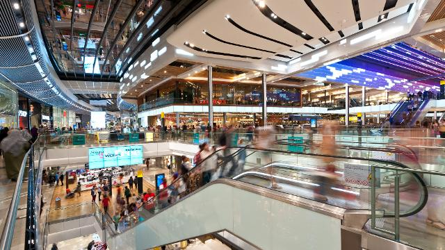Westfield Stratford Shopping Centre.