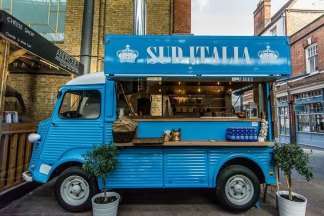 street food come lavoro a Londra