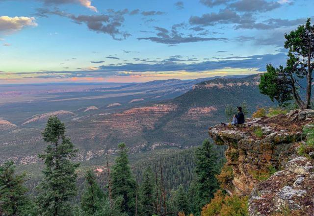 Camping Grand Canyon - photo credit Escape Adventures; Social Distance idea