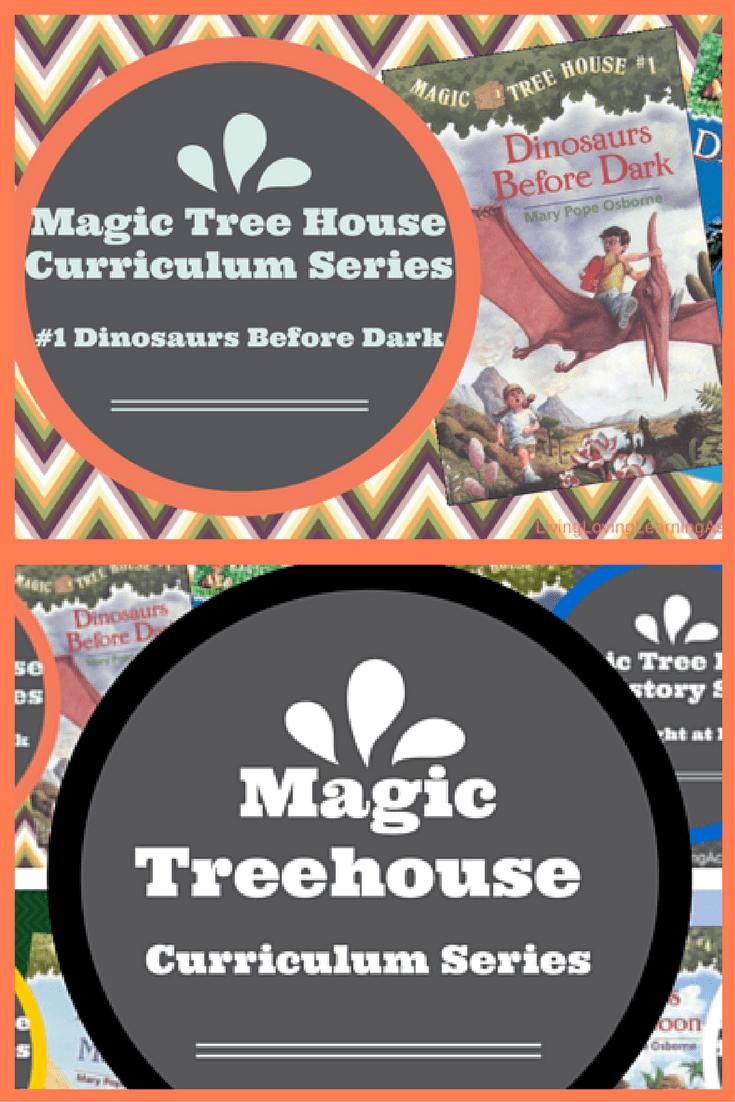 dinosaurs before dark magic tree house no 1