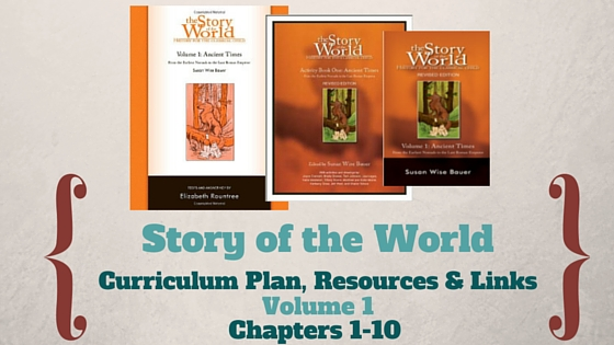 Story of the World: Volume 1- Curriculum Plan, Resources and Links (Chapters 1-10)