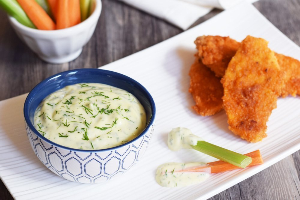 Buffalo Chicken Tenders & Ranch Dressing