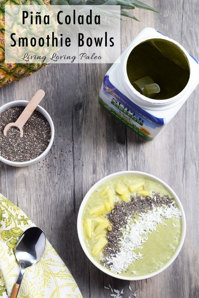 Piña Colada Smoothie Bowl + A Giveaway!