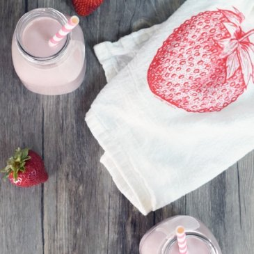 Dairy-free Strawberry Milk