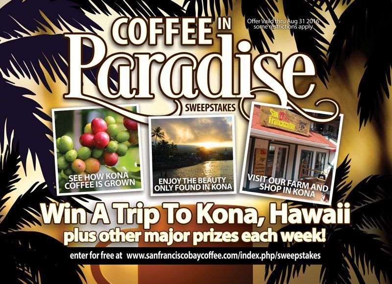 Superhero Latte & Win A Trip To Kona, Hawaii!