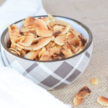 Salted Caramel Coconut Chips