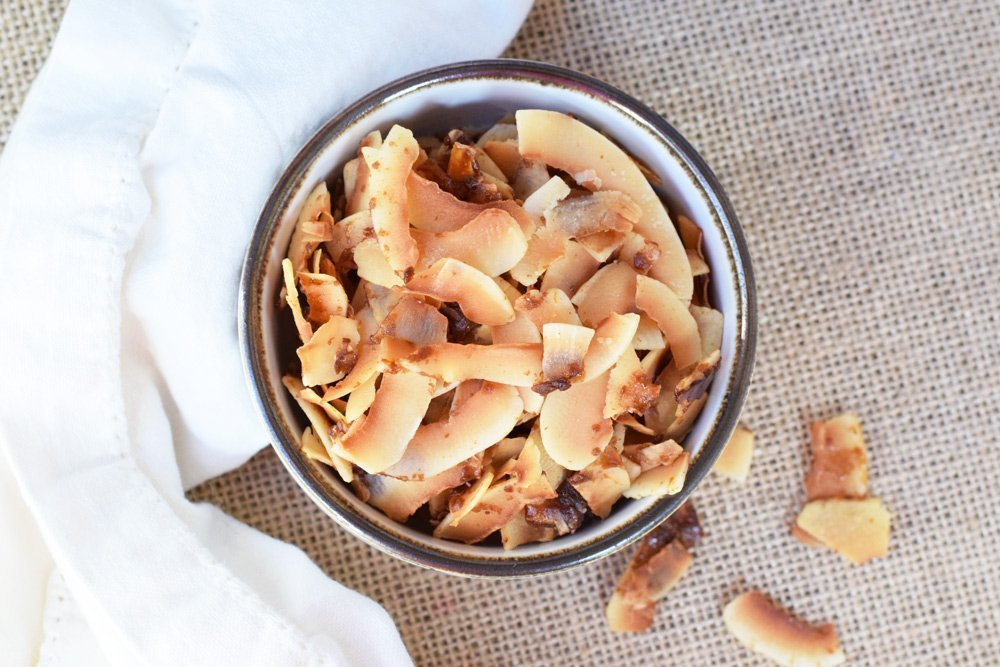 Salted Caramel Coconut Chips