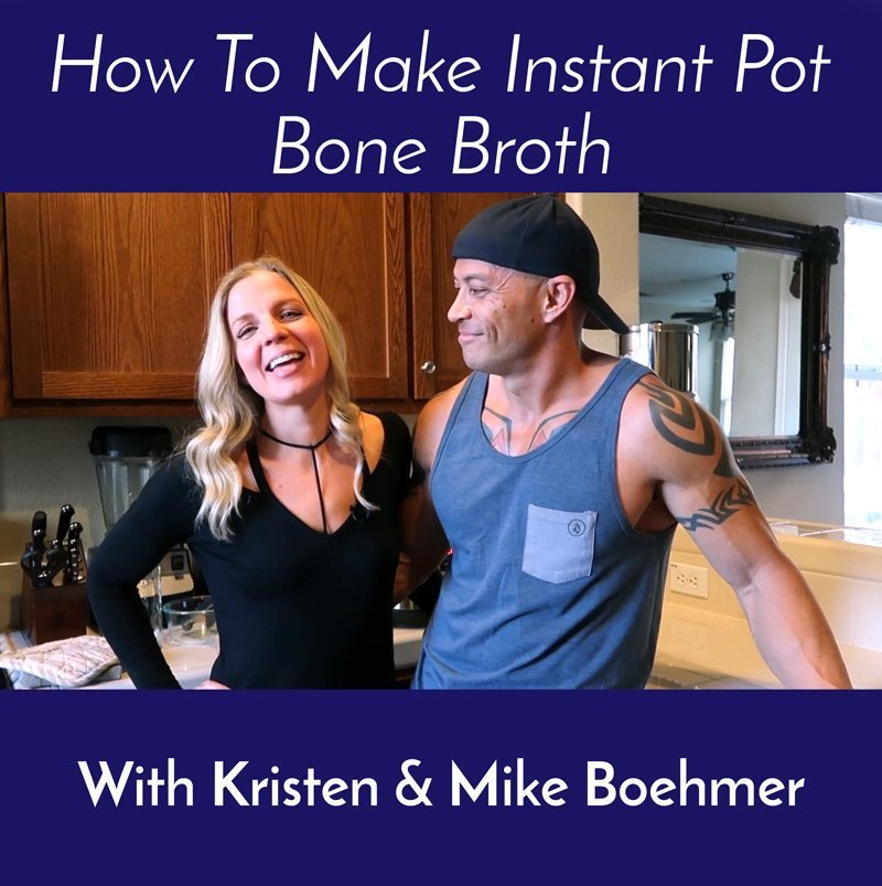 Instant Pot Bone Broth – How To Video & Recipe