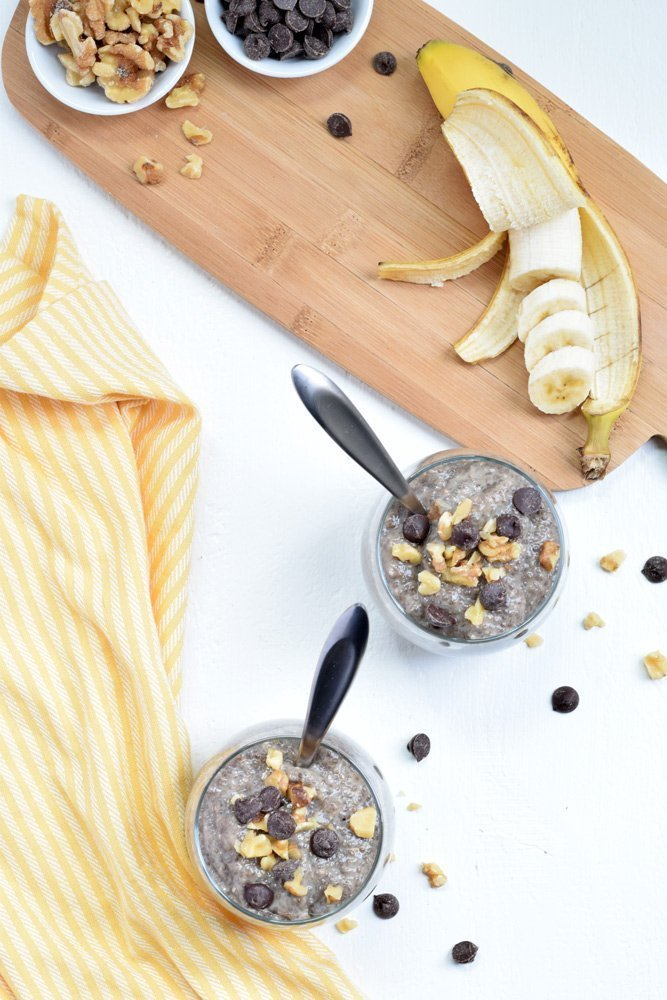 Banana Bread Chia Pudding