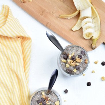 Banana Bread Chia Pudding