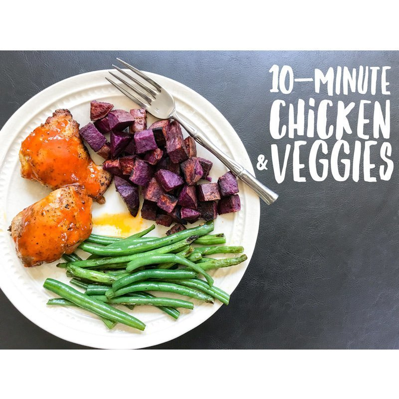 10-Minute Chicken & Veggies