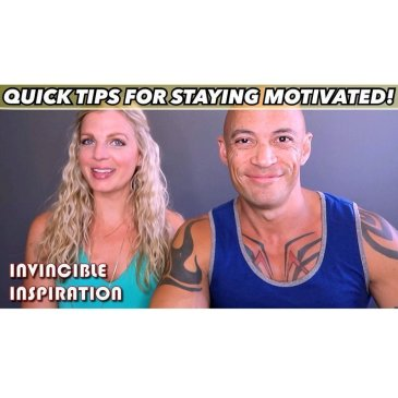 Tips For Staying Motivated (Video!)