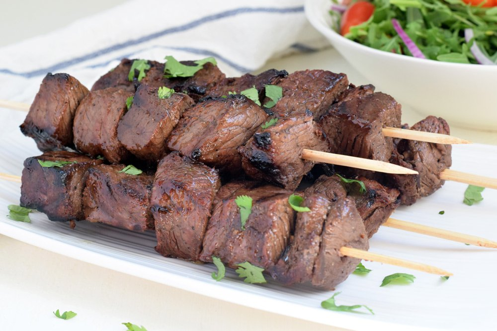 Balsamic Steak Kabobs