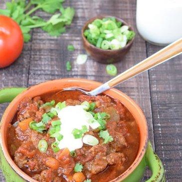 Instant Pot Beanless Chili