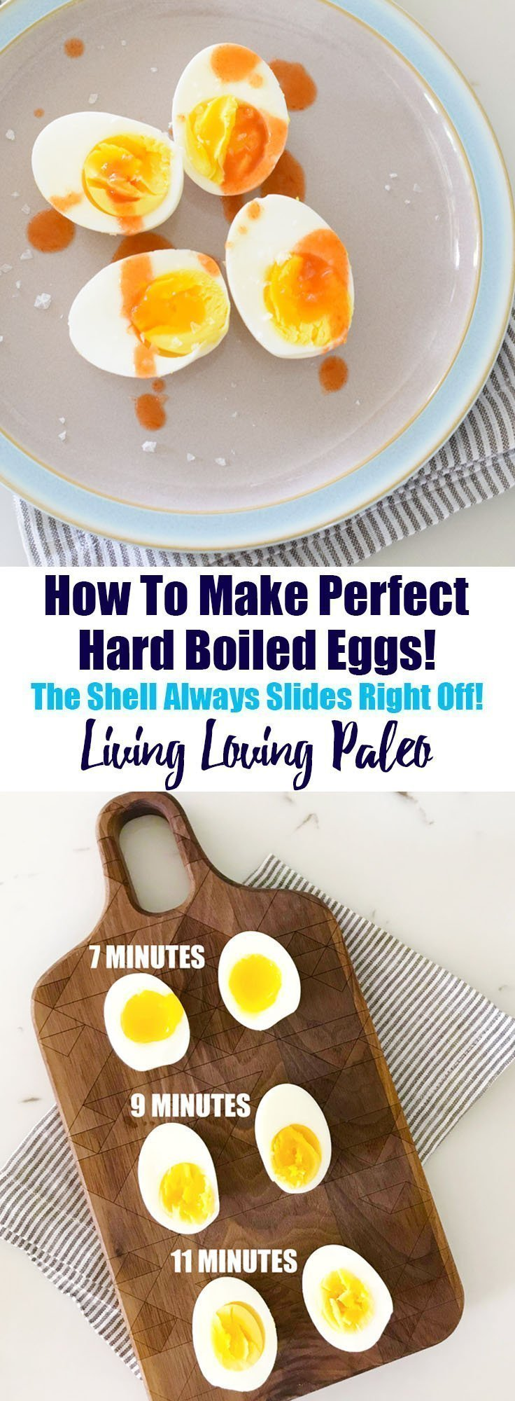 Perfect Hard Boiled Eggs, Every Single Time!