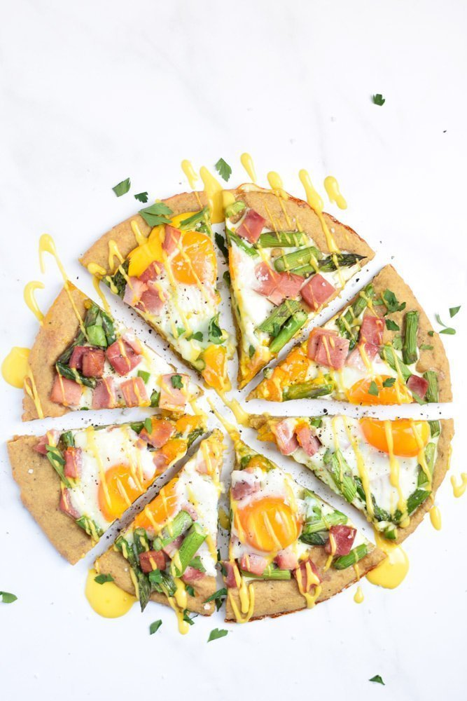 Breakfast Benedict Pizza (Paleo)