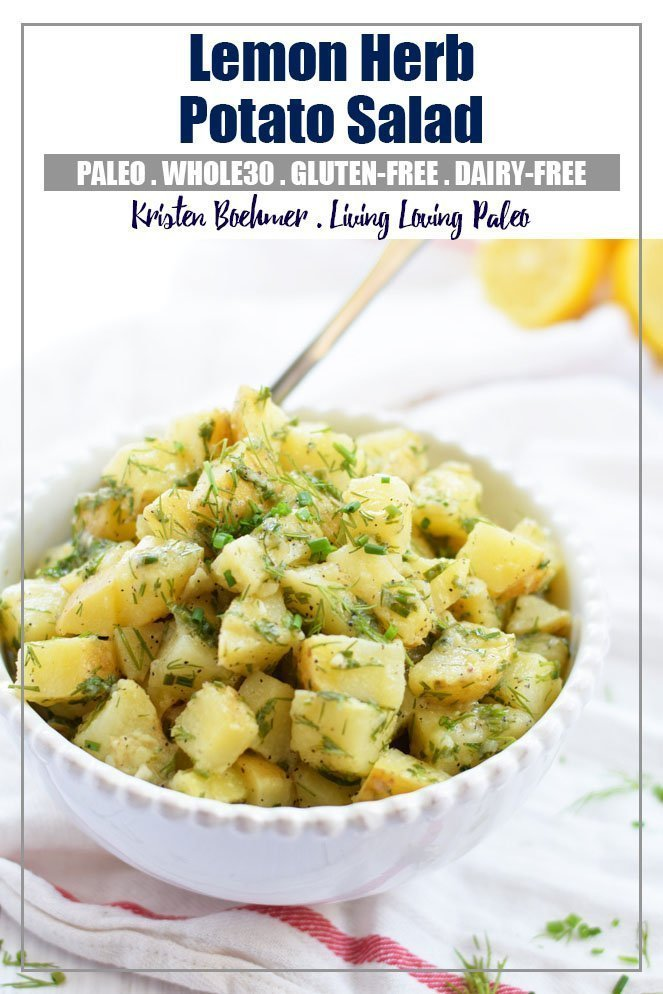 Lemon Herb Potato Salad