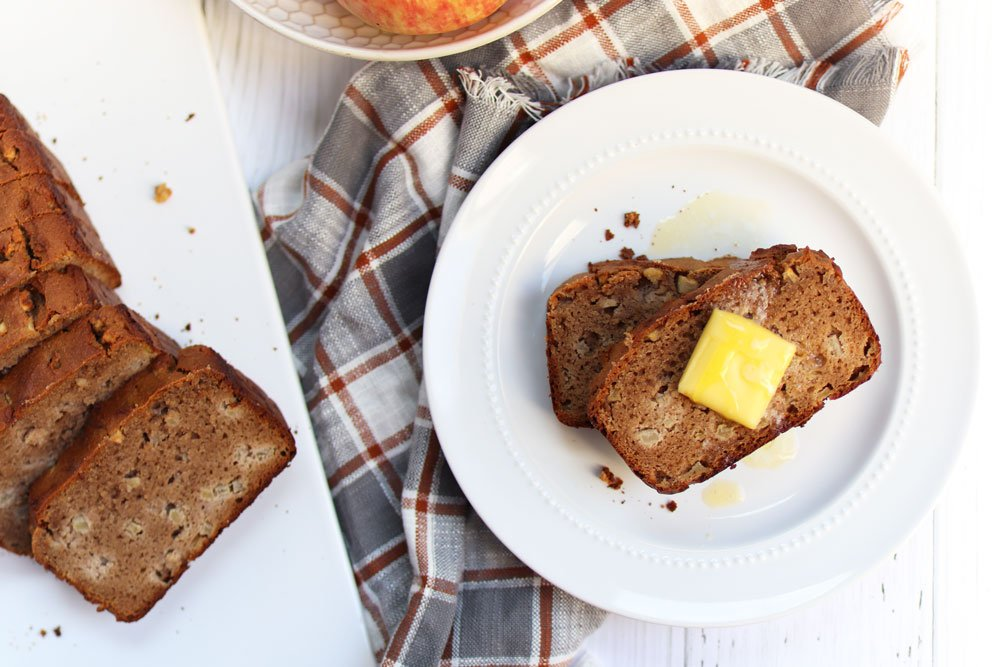 Apple Cinnamon Bread (grain-free & gluten-free)