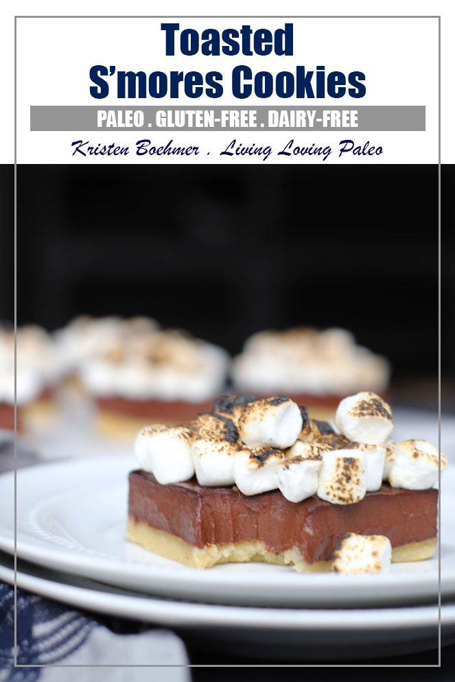 Toasted S'mores Bars (Paleo & Dairy-free)