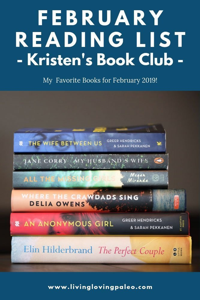 Welcome to my brand new series: Kristen's Book Club! Get a peek at my February 2019 Reading List and my next book recommendations. #kristensbookclub #feburaryreadinglist #reading