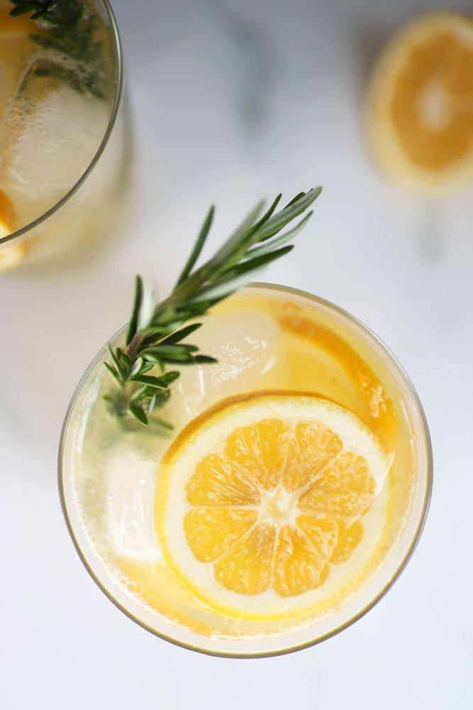 Rosemary Vodka Lemonade