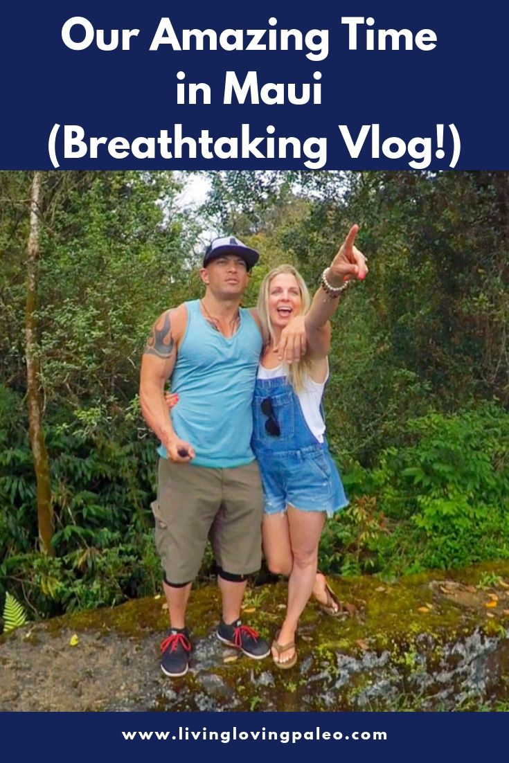 Watching this vlog about our time in Maui takes me right back to our amazing experience. I hope that it inspires you to visit this magical island as well! #timeinmaui #mauivlog #hawaiiadventures #livinglovingpaleo