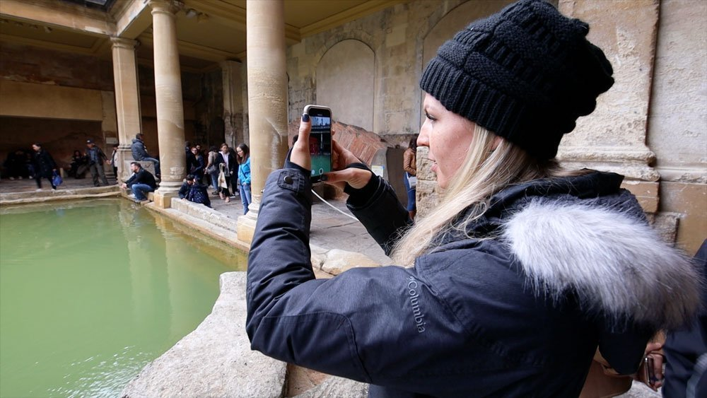 Roman Baths in England