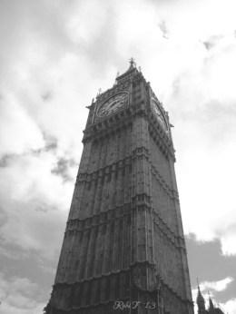 Big Ben, London - Monochrome
