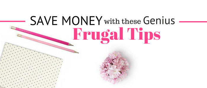 Have you been wanting to save money but don't know where to start? These 50 genius frugal living tips include things like budgeting, starting an emergency fund, implementing the cash envelope system, and a many other ideas that will have you saving money. Are you ready to take frugal living to the next step? Let's make saving money easy!