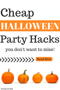 Save money on your next Halloween Party with these awesome hacks!! I love the cheap halloween decoration ideas and the halloween party theme suggestions are great!