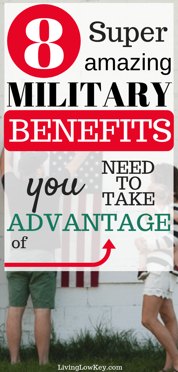 8 surprising military benefits that will save you and your family money. Don't miss out on your benefits while serving in active duty in the Navy, Air Force, Marines, or Army.